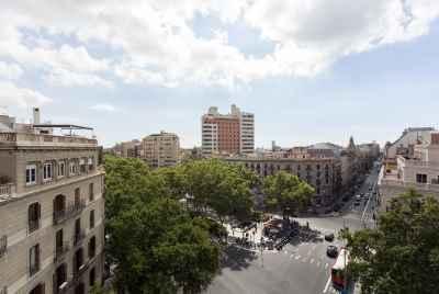 City loft view